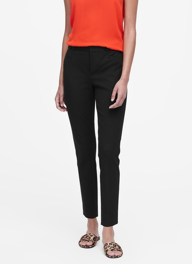 Banana Republic Sloan Skinny-Fit Pantolon Siyah